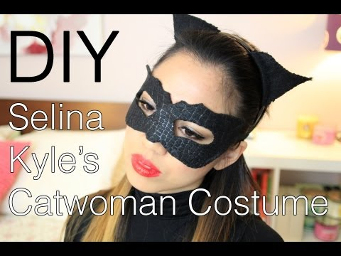 Halloween DIY Selina Kyle/Catwoman (The Dark Knight Rises) Costume, Makeup, and Hair