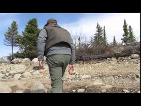 Capture d'une truite mouchetée monstre à la Pourvoirie Mirage