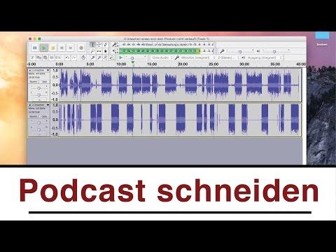 Podcast aufnehmen und schneiden | Tools uns Software für  ...