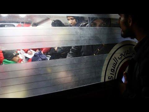 Ολοκληρώθηκε η επιχείρηση ανθρωπιστικής εκκένωσης σε υπό πολιορκία περιοχές της Δαμασκού…