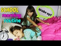 Download Lagu SCHOOL MORNING ROUTINE! Get ready with us!  Funny Family Routine - TwoSistersToyStyle Mp3 Free