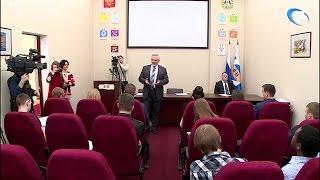 Состоялась встреча председателей Студенческих советов с ректором университета  Виктором Вебером