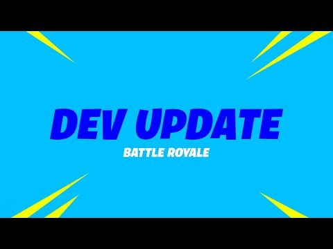Battle Royale Dev Update #12 - Weapon and Storm Changes and Progressive Outfit Updates (видео)