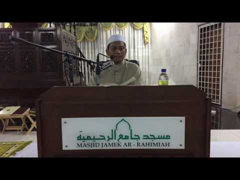 Ustaz Mohd Zairi Drahman   25072017