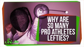 Why Are So Many Pro Athletes Lefties? by  SciShow