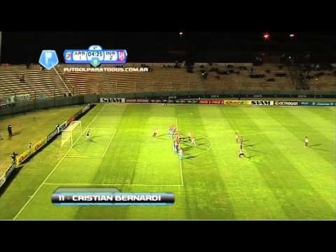 Gol de Bernardi. Arsenal 1 – Instituto 2. 16 avos. de final. Copa Argentina