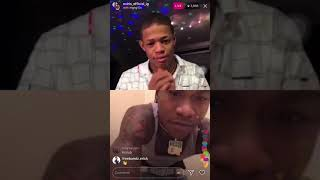 NBA Ben 10 and Yk Osiris gets in a ARGUMENT about girl and clowns each other !!