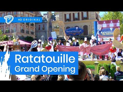 Ratatouille: The Adventure Grand Opening Ceremony – Disneyland Paris