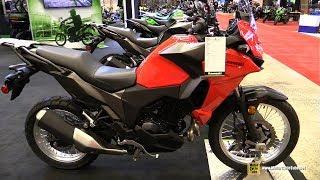9. 2018 Kawasaki Versys X 300 ABS - Walkaround - 2018 Montreal Motorcycle Show