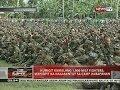 Humigit kumulang 1,000 MILF fighters, mahigpit na nakabantay sa Camp Darapanan