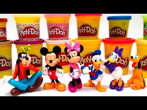 collection - Beautiful Mickey Mouse Clubhouse Toys Collection Play Doh Minnie Mouse Bowtique Disney Toys Collection Disney Characters Toys Collection ✿◕ ‿ ◕✿ Angry Birds Surprise Eggs Video...