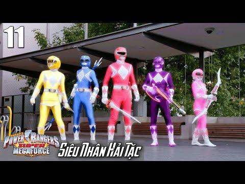 Phim Siêu Nhân Hải Tặc (Super Megaforce) Tập 11: Hình Thái Khủng Long - Thời lượng: 23 phút.