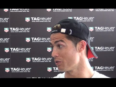 cristiano - Real Madrid and Portugal striker Cristiano Ronaldo shares the passion he still has for Manchester United but insists he will remain in the white of the Santiago Bernabeu. Please like the video...