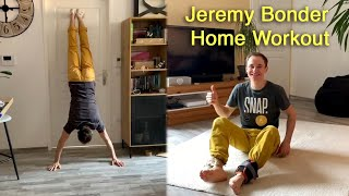 Jeremy Bonder  - Home Workout by Bouldering TV