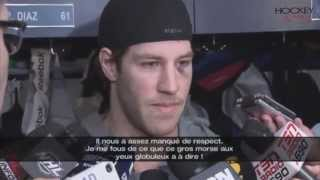 Brandon Prust  sounded off on Paul MacLean's comments about the hit on Lars Eller