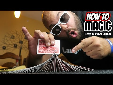 10 MAGIC Card Shuffle Tricks REVEALED! (видео)