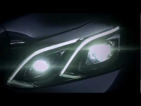 0 Mercedes Benz teases the 2014 E Class sedan facelift