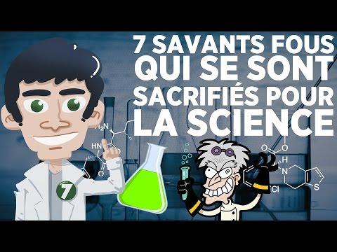 7 savants fous qui se sont sacrifiés pour la science (видео)