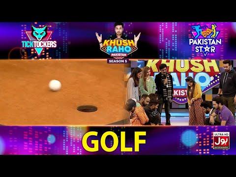 Golf | Khush Raho Pakistan Season 5 | Tick Tockers Vs Pakistan Star | Faysal Quraishi