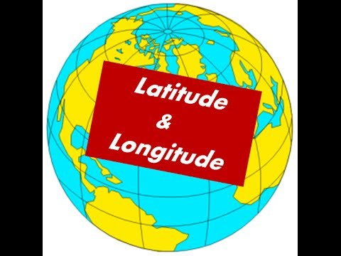 how to know longitude and latitude