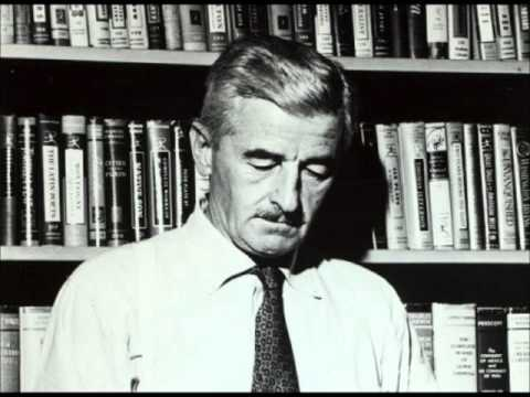 William Faulkner reads from his novel As I Lay Dying RARE AUDIO OF FAMOUS WRITER