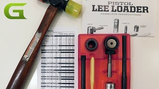 Check out our full review for the Lee loader on Guns.com - http://www.guns.com/review/gear-review-reloading-on-a-bare-bones-budget-with-the-lee-loader-video/