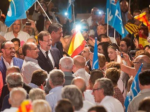 """Rajoy: """"Pido un voto masivo por el sentido común y la responsabilidad"""""""