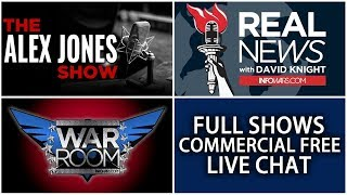 📢 Alex Jones Infowars ► All Shows From Today Commercial Free • Monday 1/22/18