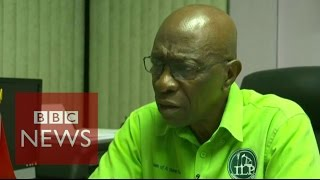 FIFA corruption: Jack Warner interview