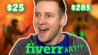 Video I Paid Artists on FIVERR To Finish My Drawing... MP3, 3GP, MP4, WEBM, AVI, FLV Juni 2019