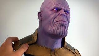 Video Thanos Sculpture Timelapse - Avengers: Infinity War MP3, 3GP, MP4, WEBM, AVI, FLV Mei 2018
