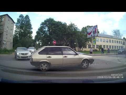 ДТП в городе Вышний Волочёк