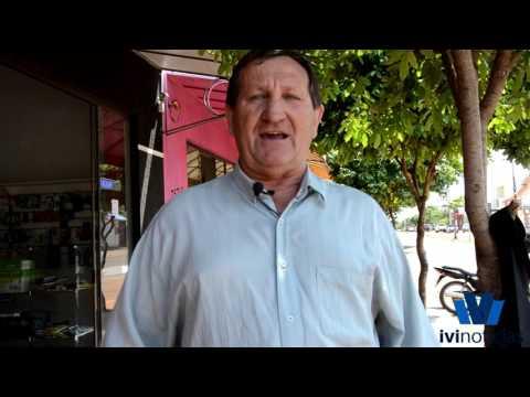 Entrevista com o candidato Adilço Scapin de Novo Horizonte do Sul