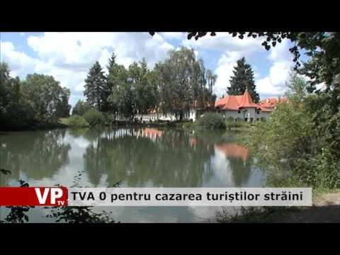 TVA zero pentru cazarea turiștilor străini