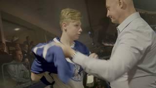 /Carson Grail and Children's Treatment Centre of Chatham-Kent enjoy the Maple Leafs Experience