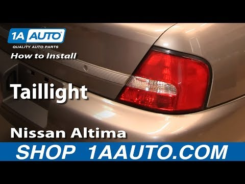 How To Install Replace Taillight Nissan Altima 00-01 1AAuto.com