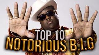 10 mejores temas NOTORIOUS B.I.G