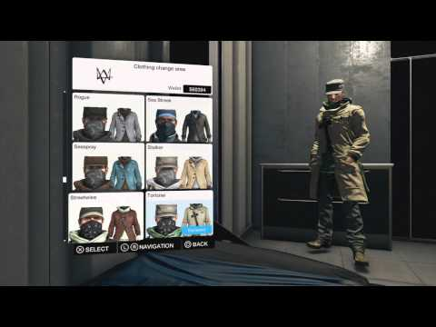 Watch Dogs - ALL Outfits Showcase