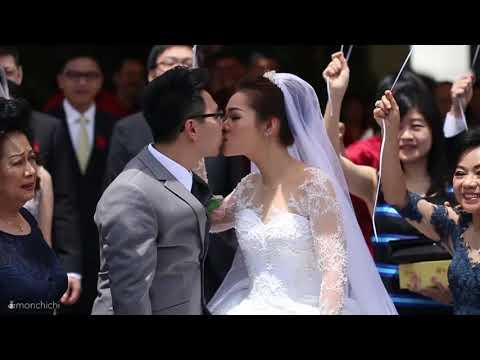 the wedding of alvin & verine