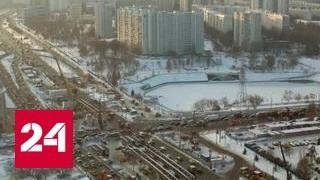В Москве построят 350 километров дорог за три года