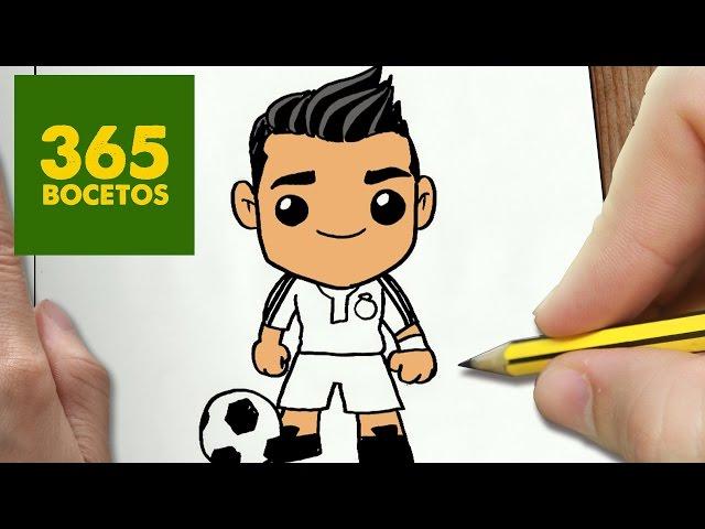 Como Dibujar Messi Kawaii Paso como dibujar messi kawaii paso a