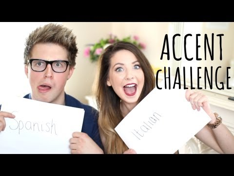accent - The Accent Challenge with Marcus Butler Marcus' Video: http://bit.ly/11Pa9E1 Subscribe to Marcus: http://bit.ly/19QAAH8 Thumbs up for this being my 100th vid...