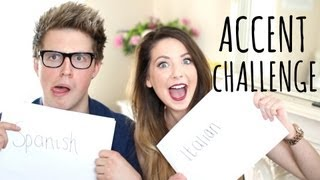 Accent Challenge with Marcus Butler | Zoella