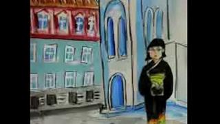 映画『ふたりの旅路』イッセー尾形作画の紙芝居風特報