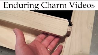 Traditional cabinets often have a bead detail around the drawer and door edges.  The original method of doing this was to apply a bead moulding or sometimes to scratch the bead into the frame in more primitive styles.  With modern routers we can cut beads easily enough, but what is the best way to miter the stiles and rails together?  In this video I'll show you how I'm accomplishing this traditional detail for some kitchen cabinets.