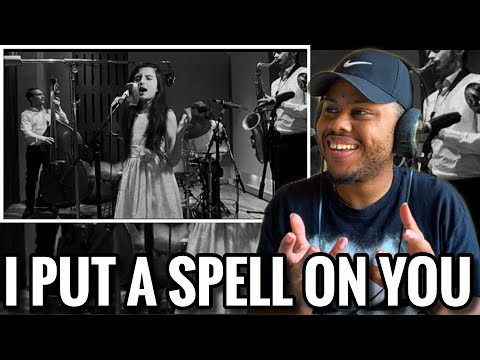 ANGELINA JORDAN - I PUT A SPELL ON YOU REACTION