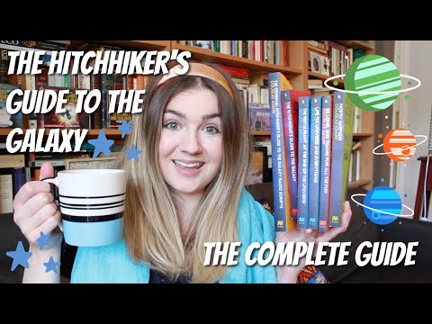 A Beginner's Guide to The Hitchhiker's Guide to the Galaxy | #BookBreak with @Jean Bookishthoughts