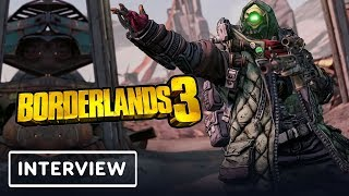 Borderlands 3 Dev Talks Number of Guns, Cheating, & More - Gamescom 2019 by IGN