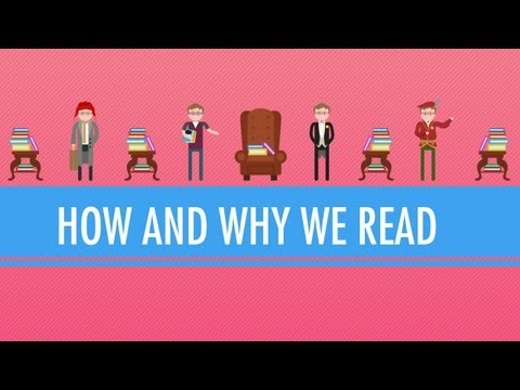 reading - In which John Green kicks off the Crash Course Literature mini series with a reasonable set of questions. Why do we read? What's the point of reading critica...