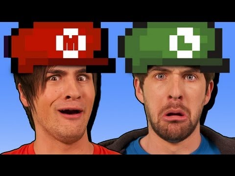 re - Bloopers & Failing: http://smo.sh/marioextras WATCH EN ESPAÑOL: http://youtu.be/CDrHSSUphfs Make your own Mushroom Kingdom: http://amzn.to/VF1Zej Check out n...